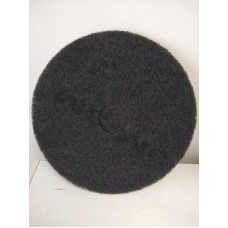 17 Inch Floor Pads - Black - Case of 5