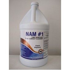 NAM #1 - Concentrated Lime Remover - 4 Gallon Case